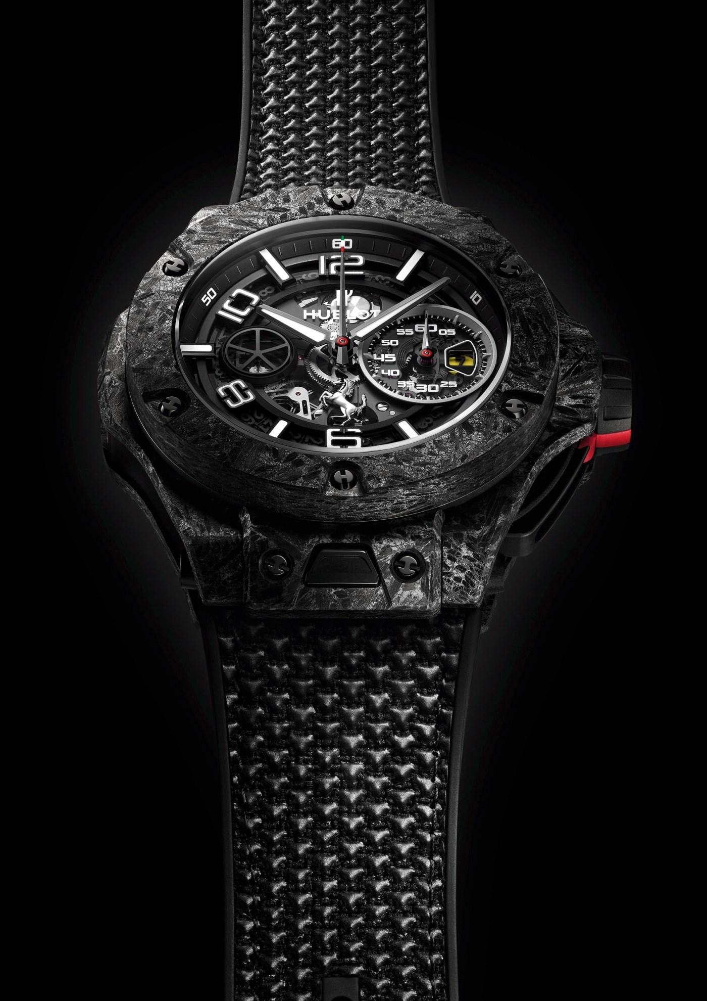 2020 Hublot Big Bang Ferrari 1000 GP carbon ceramic front angled