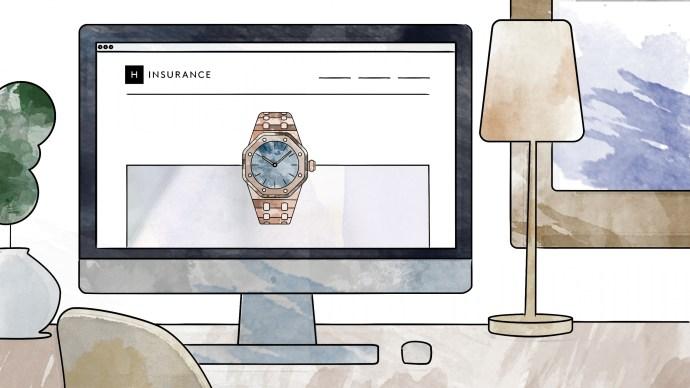 Hodinkee Illustration Watch Insurance