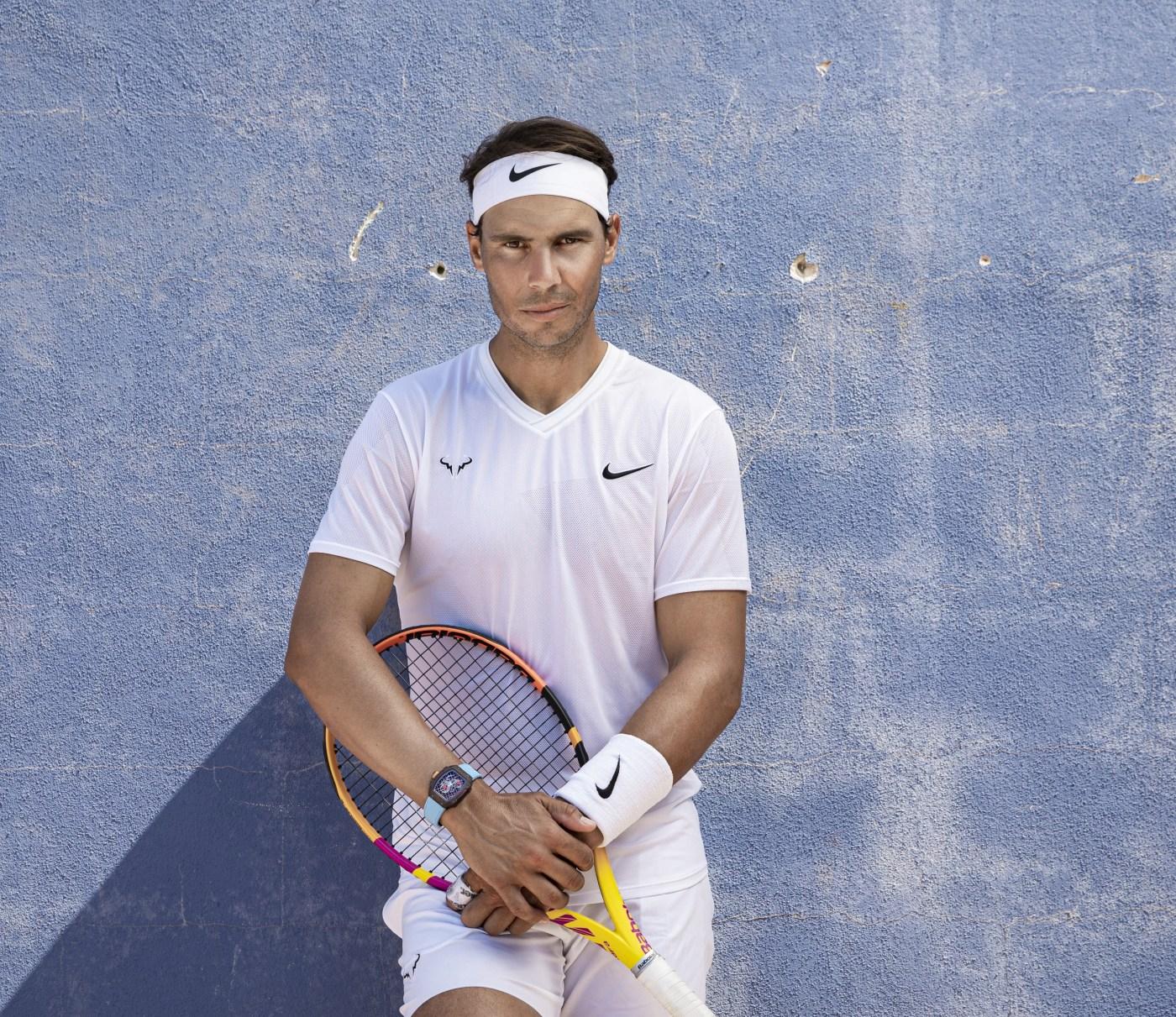 Rafael Nadal wearing Richard Mille RM 27-04