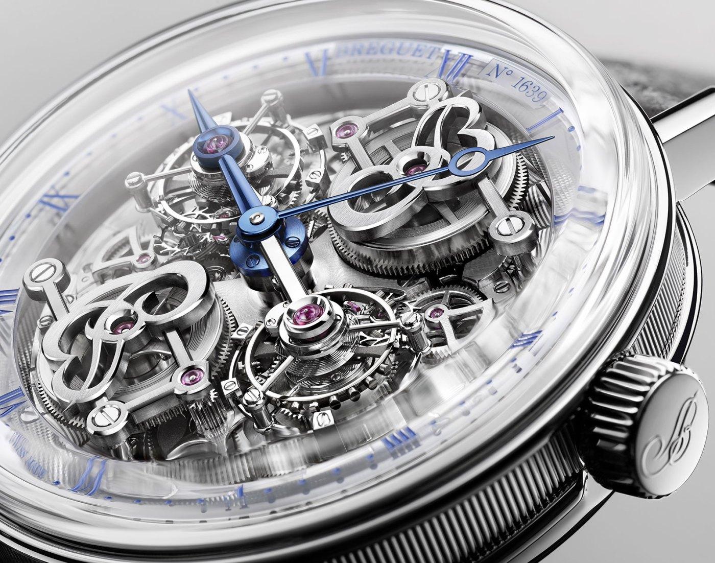 Breguet Classique Double Tourbillon 5345 Quai de l'Horloge close-up