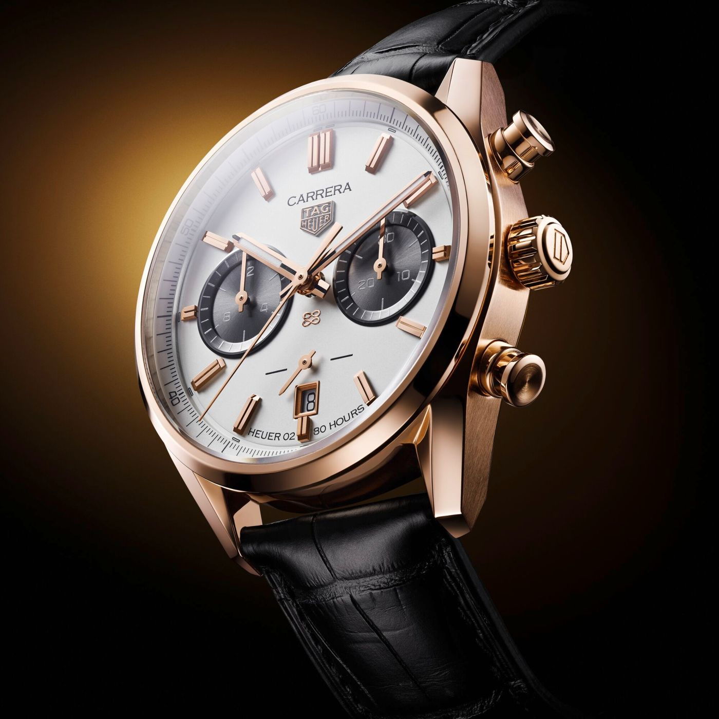TAG Heuer Carrera Jack Heuer Gold Limited Edition