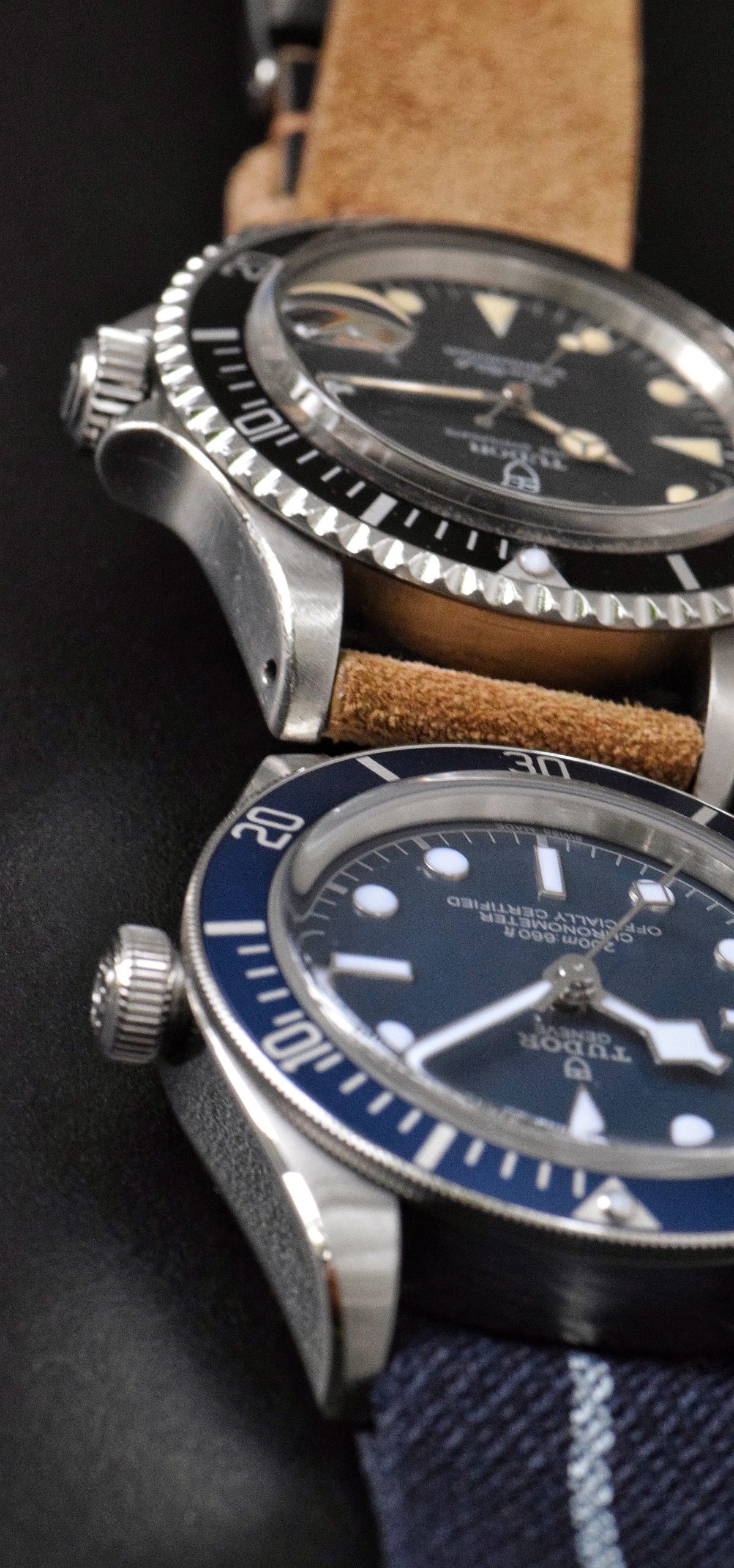 Tudor Black Bay 58 Blue compared to 1992 Tudor Submariner