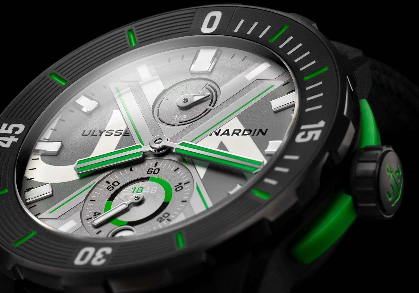 Ulysse Nardin Diver Net Concept