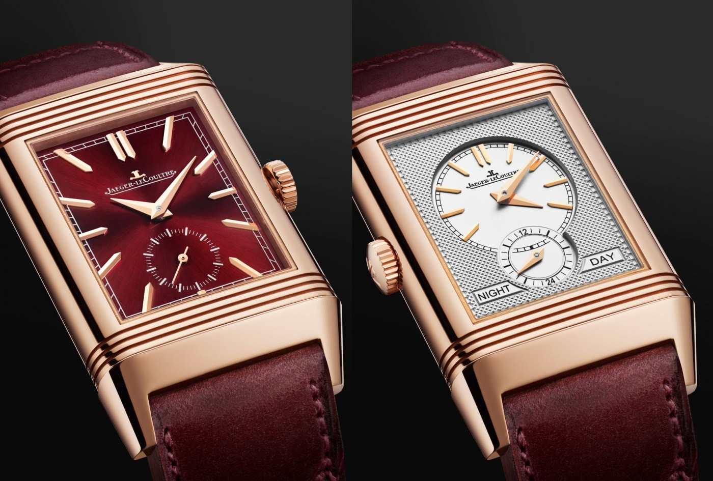 Jaeger-LeCoultre Reverso Tribute Duoface Fagliano front and back