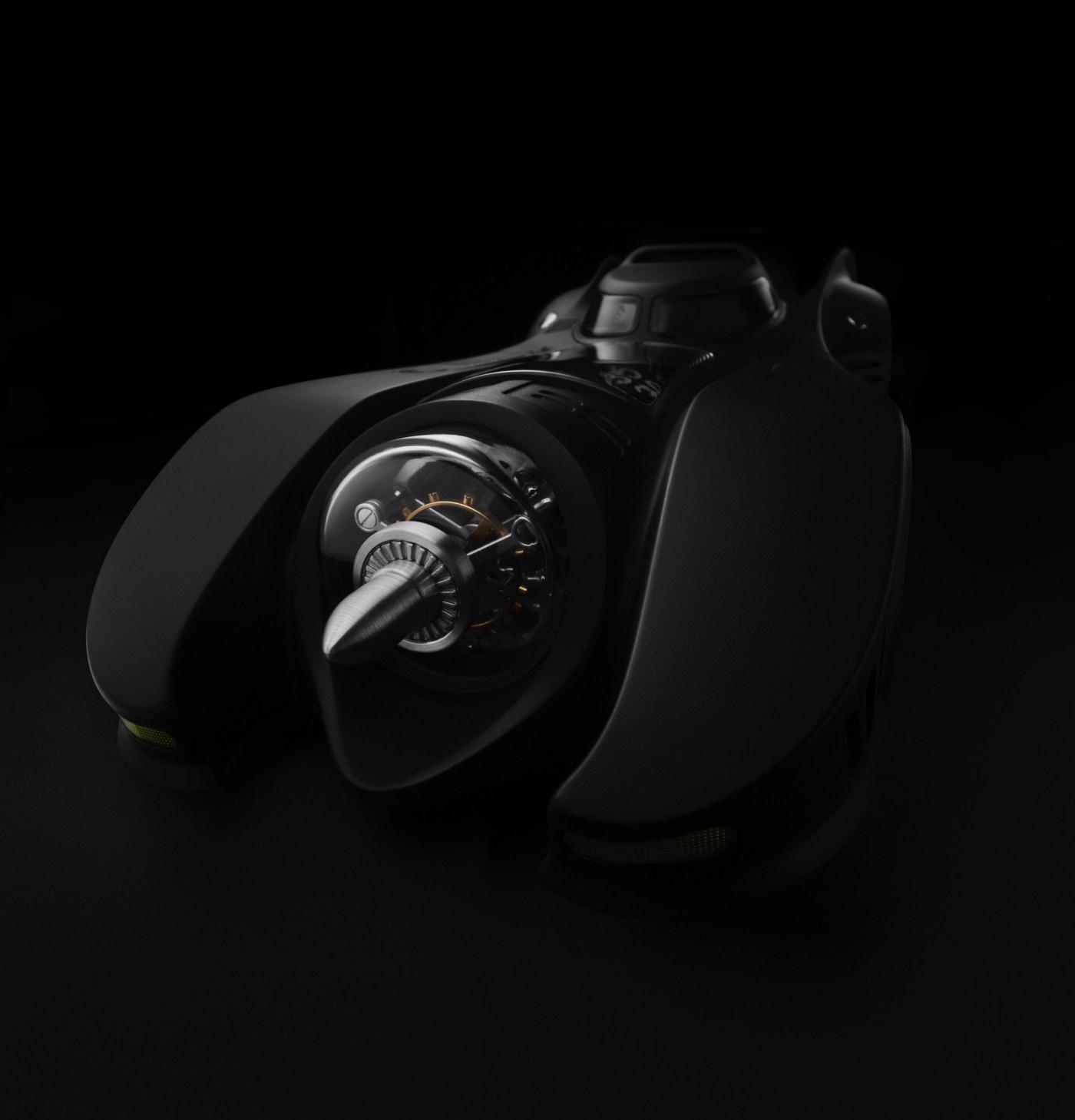 Batmobile Clock