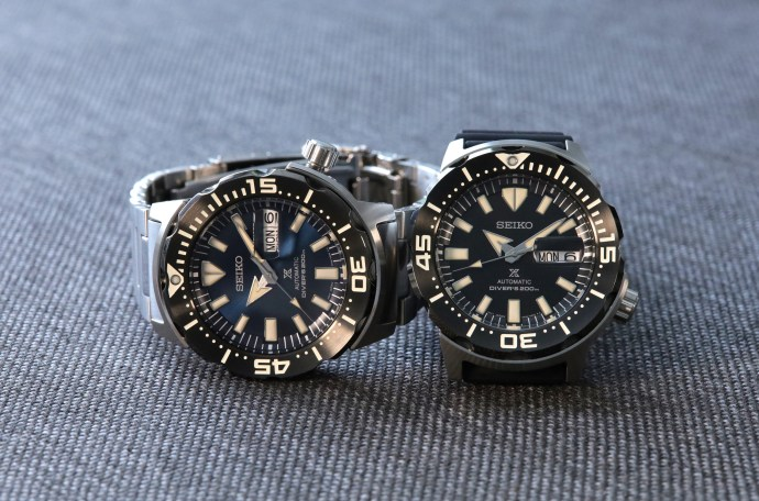 """Seiko Prospex SRPD25 and SRPD27 """"Monster"""" Automatic Divers"""