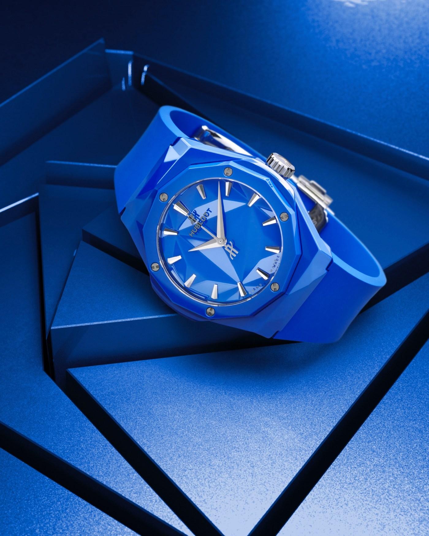 Hublot Classic Fusion Orlinski Blue Ceramic