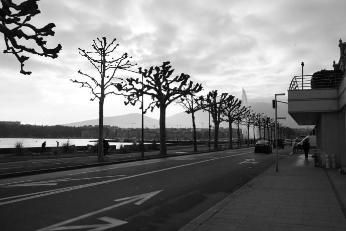 Lake Geneva 2013 view from President Wilson Hotel