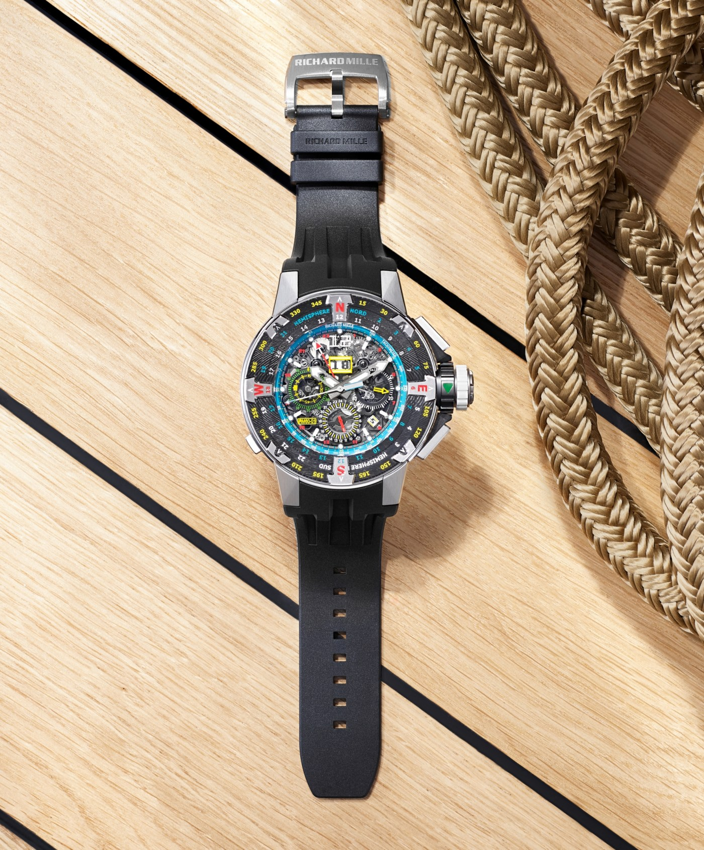 2021 RM 60-01 Automatic Flyback Chronograph Les Voiles de St Barth