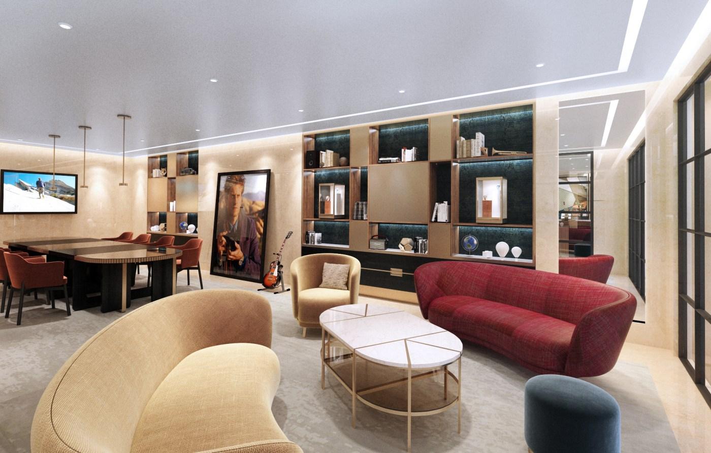 Vacheron Constantin NYC Flagship 2021 - Lounge