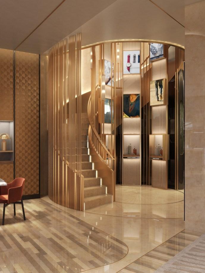 Vacheron Constantin NYC Flagship Stairs 2021