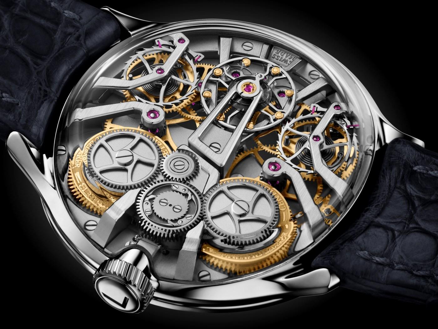 Lederer Central Impulse Chronometer caseback