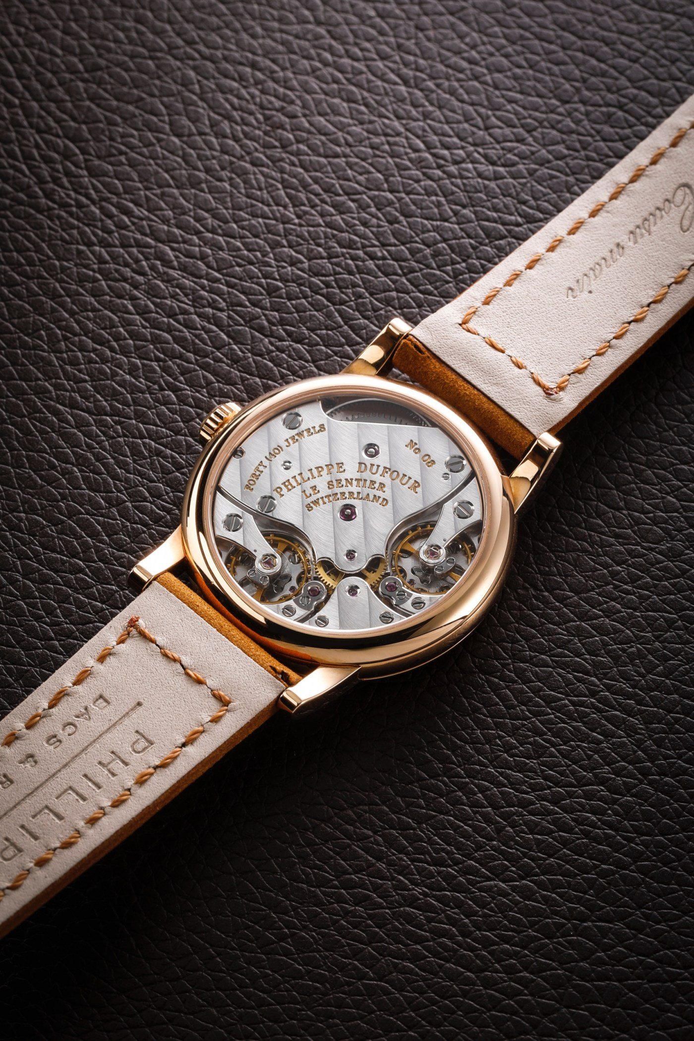 Philippe Dufour Duality caseback