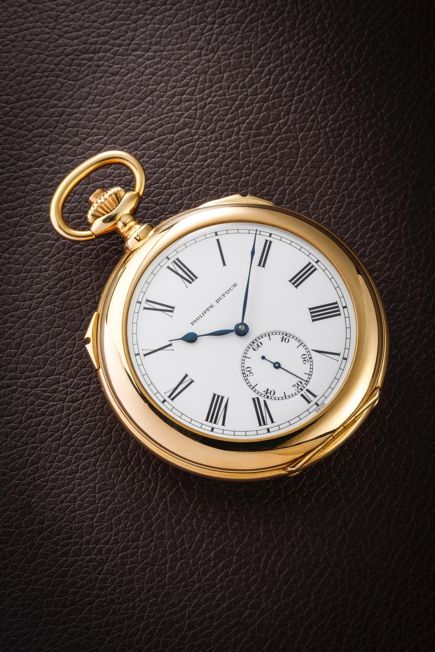 Philippe Dufour Grande Sonnerie and Petite Pocket watch number 1
