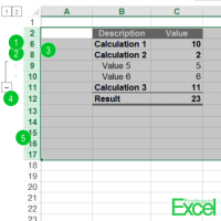 Unhide All Rows or Columns in Excel at the Same Time