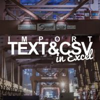 Text Import Wizard Gone? How to Import CSV and Text Files in Excel