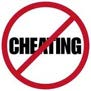 never cheat again