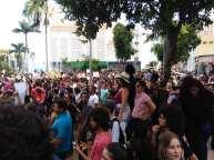 Concentração na Praça Alencastro
