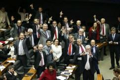 Brasília- DF. 12-07-2019- Bancada do PT durante votação da reforma da previdência - Foto Lula Marques