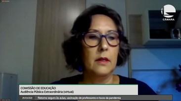 Representante da Undime, Estela Correa