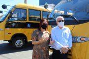 Com prefeito Leocir, de Nobres