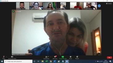 Deputado Valdir Barranco, e esposa Roseli Barranco