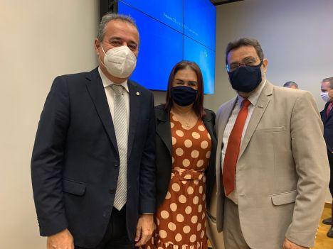 Com o deputado Danilo Cabral e Rodrigo Zanin