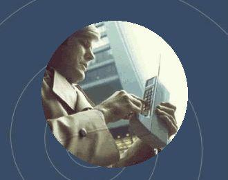 O primeiro telefone móvel (celular)