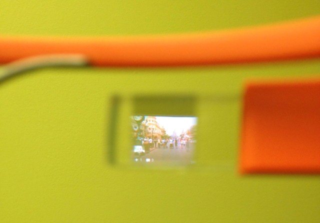 Google Glass Screen