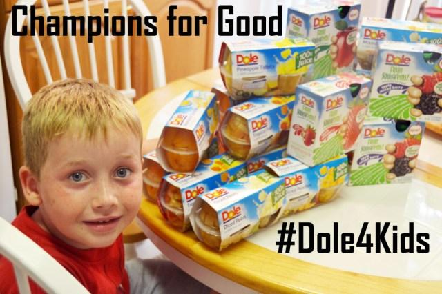 Champions for Good Dole4Kids #shop