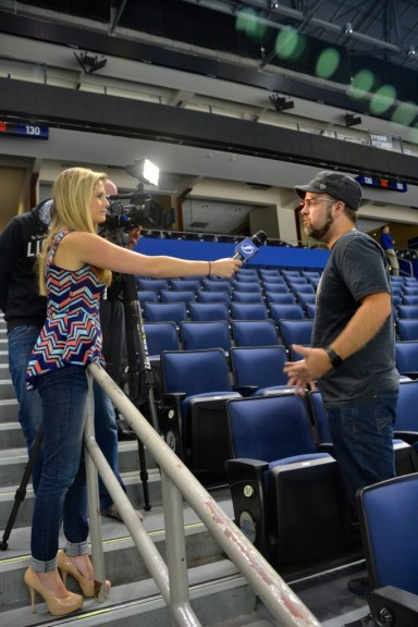 My interview with Tampa Bay Lightning on Google Glass