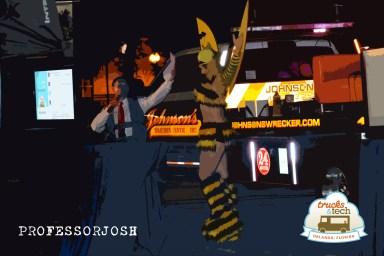 Trucktoberfest Giant Bee