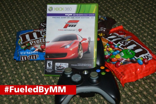 Snack and Racing Fun with M&Ms and Forza 4 #FueledByMM #shop
