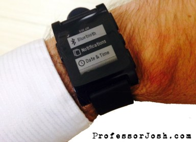 Pebble Watch New Notification Features