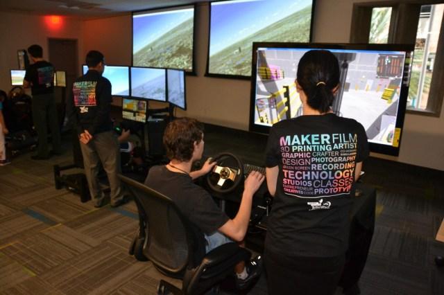 Orlando Library Melrose Center Simulators