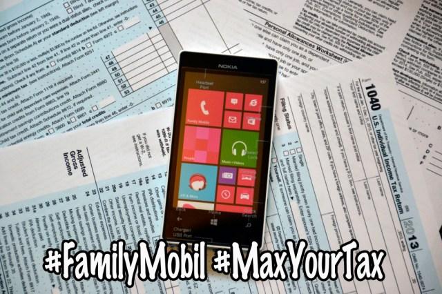 Walmart #FamilyMobile #MaxYourTax Nokia Lumia 521 #Shop