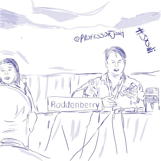 Sketch by Sketch SXSW Interactive Rod Roddenberry From Trekkies to Techies