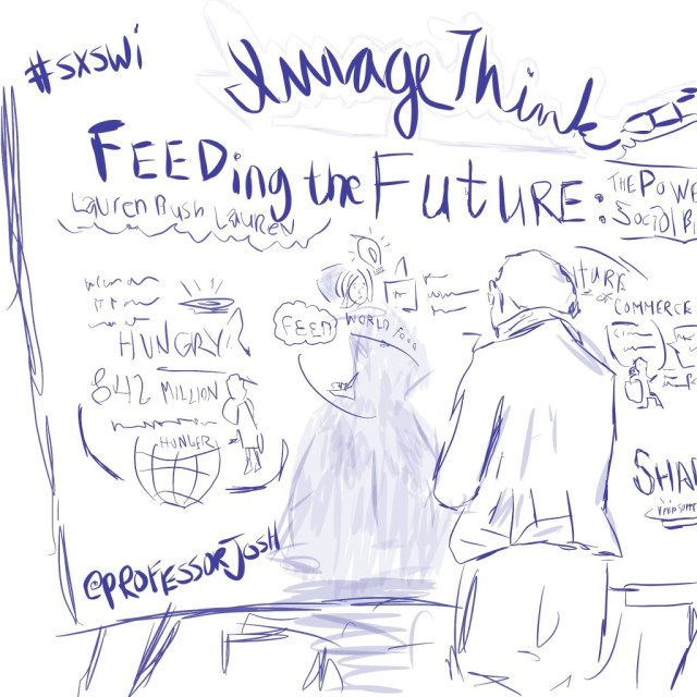 Sketch by Sketch SXSW Interactive Image Think Feeding the Future