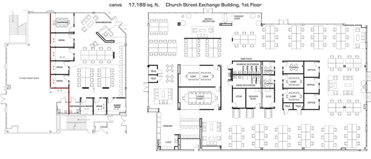 Cavns Detailed Plans for Downtown Orlando Coworking Space