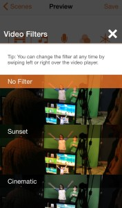 Lumify Video Editor Filters