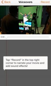 Lumify Video Editor Record Audio