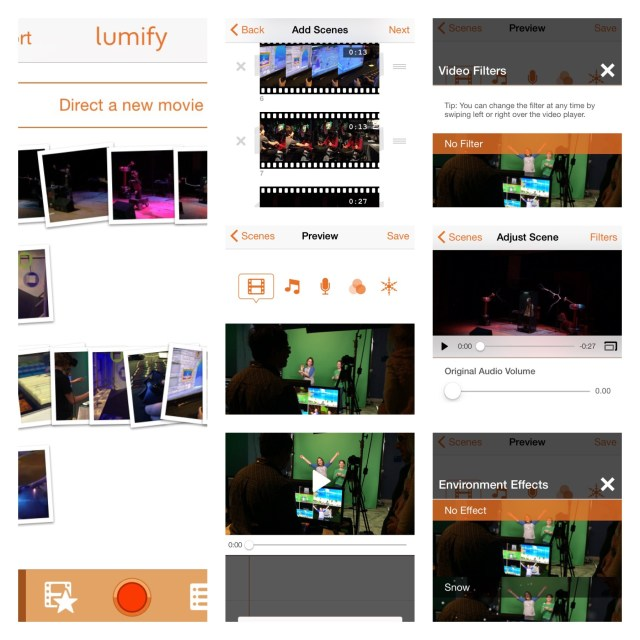 Lumify Video Editor App for iPhone