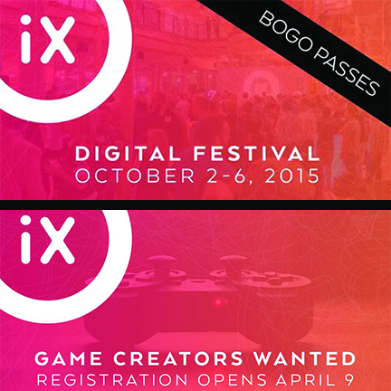 OrlandoiX Offers BOGO and Game Creator Registration #OrlandoiX15