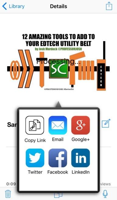 Knovio Mobile Sharing