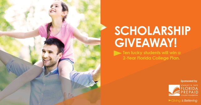 Florida Prepaid Scholarship Giveaway #StartingisBelieving