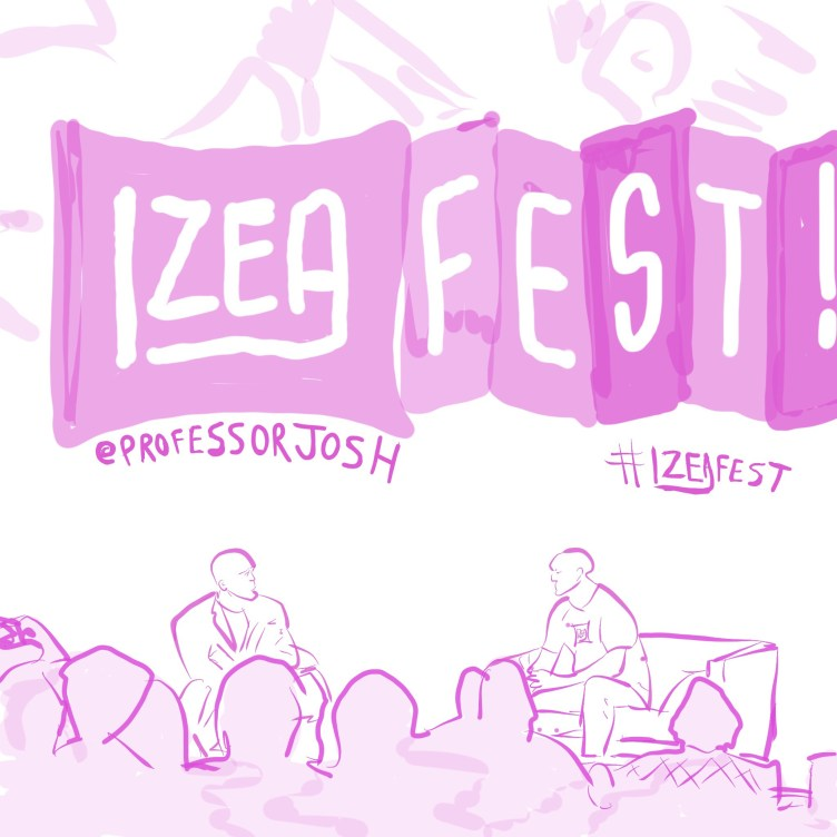 IZEAfest 2017 Sketch Daymond John and Ted Murphy