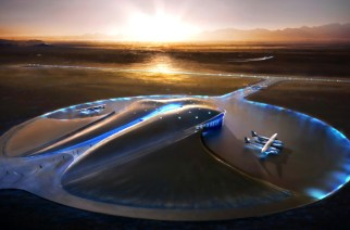 Virgin Galactic Space Port