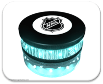 Neon Hockey Pucks