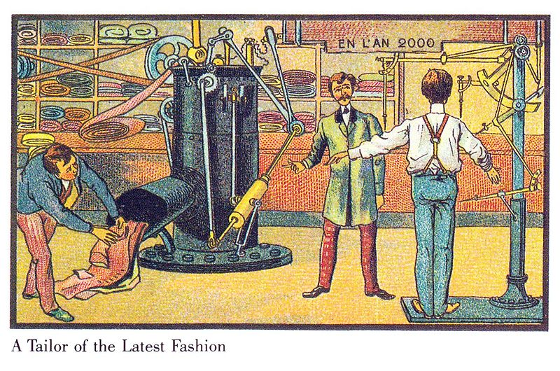 Automated Tailors France in the Year 2000