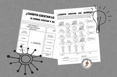 Cuanto cuesta math worksheet free printable